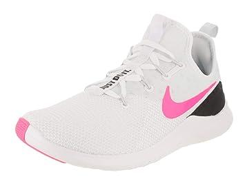 NIKE Women's Free Tr 8 WhitePink Blast Black Training Shoe