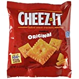 Cheez-It Crackers 1.5oz Single-Serving Snack Pack 8 Packs/Box