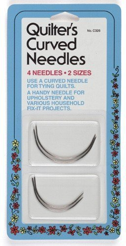 Collins NMC326 Quilters Curved Needles ()