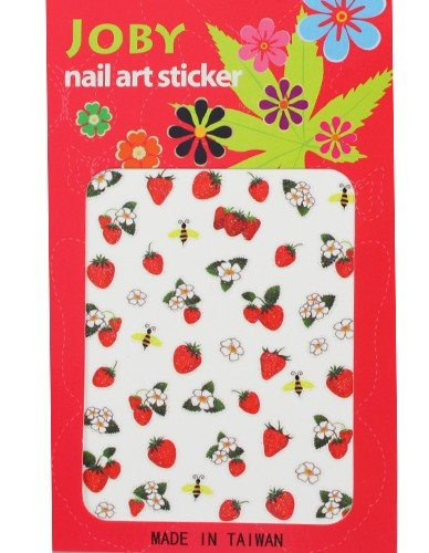 Nail Sticker/Nail Art - Signature Collection - Strawberries - Joby Nail