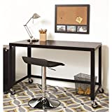 Hirsh Office Dimensions 48'' Mobile Desk in Black