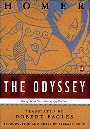 Amazon.com: The Odyssey (9780140268867): Homer, Robert Fagles, Bernard  Knox: Books