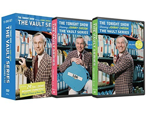 The Tonight Show Vault Series 12 DVD collection starring Johnny Carson by Carson Entertainment Group by