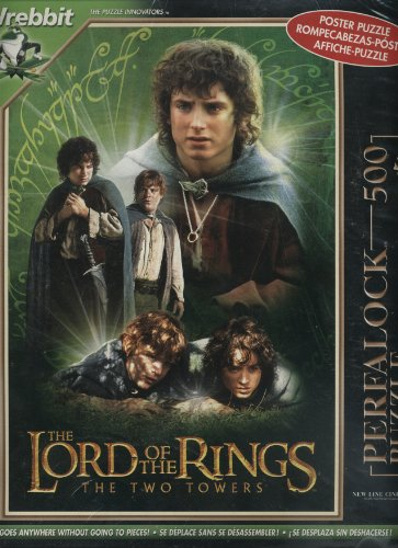Lord Rings Towers Perfalock Poster product image