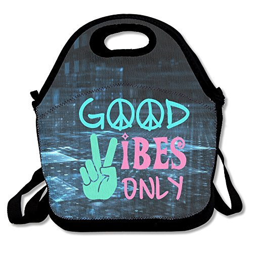 Good Vibes Only Lunch Bag Adjustable (Vibe Duo)