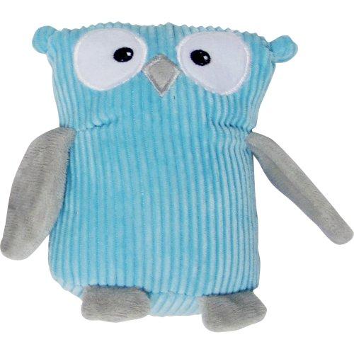 FouFou Dog Corduroy Owl Plushy, Baby Blue, My Pet Supplies