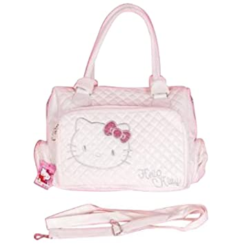 018a998279 Hello Kitty Tote Bag Messenger Sling Purse White  Amazon.co.uk  Luggage