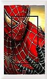 Got You Covered Framed Marvel's Ultimate Spider-man Bedding Bathroom Light Switch Cover Plate or Outlet (1x Rocker)