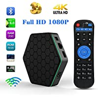 U2C T95Z Plus Android 6.0 Smart TV Box Amlogic S912 Octa-core 2GB 16GB LAN 10/100M/1000M with HD 4K Set Top Box 3D