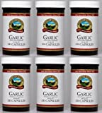Naturessunshine Garlic Immune System Support Herbal Dietary Supplement 100 Capsules (Pack of 6)