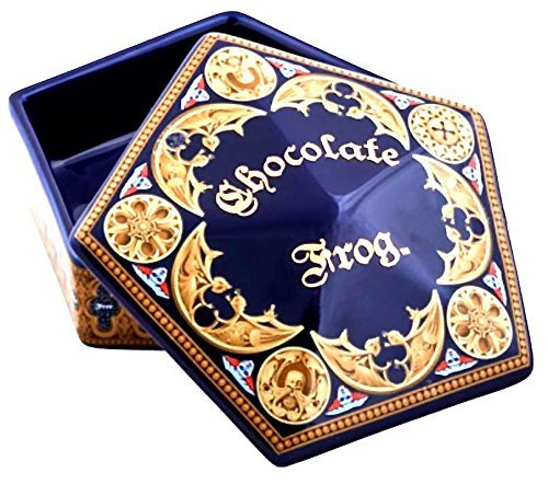 Universal Studios Wizarding World of Harry Potter Chocolate Frog Ceramic Trinket Box (Candy Frog Dish)