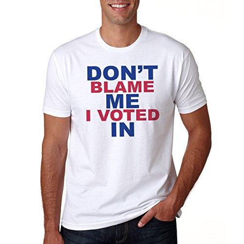 Don't Blame Me I Voted In Stay In Europe Referendum Brexit Herren T-Shirt