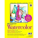 "Strathmore 300 Series Watercolor, 9""x12"", Cold Press, 24 Sheets per Class Pack"