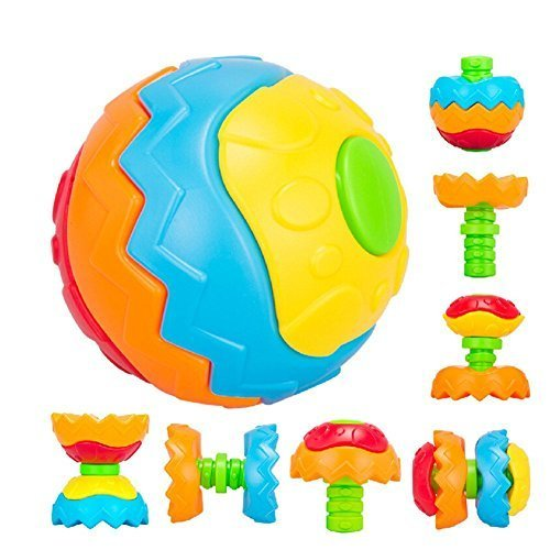 Fajiabao Fun Multivariant Ball Baby Crawling Ball Creative Assembles Toy Educational Toys Puzzle Ball Changeable (Toddler Halloween Ideas)