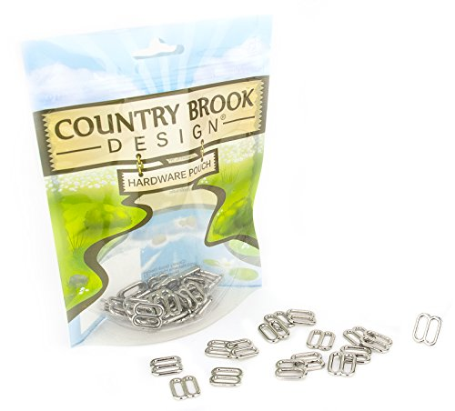 Country Brook Design 25-1/2 Inch Metal Round Wide-Mouth Lite Weight - 1/2 Buckle Inch