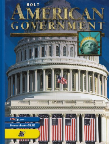 Holt American Government: Student Edition Grades 9-12 2003