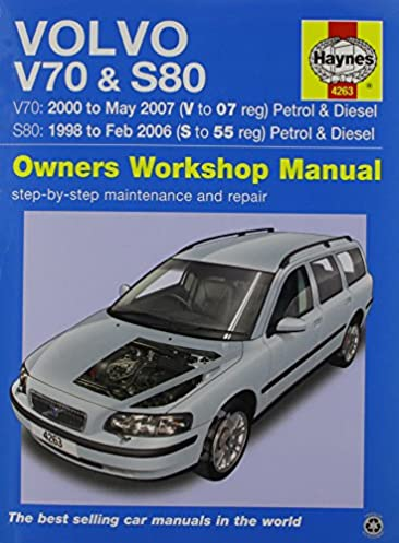 volvo v70 s80 haynes publishing 9780857339072 amazon com books rh amazon com 2000 Volvo S80 Interior 2000 volvo s80 user manual