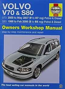 volvo v70 s80 haynes publishing 9780857339072 amazon com books rh amazon com 1992 Volvo Wagon Volvo 760 Turbo Wagon