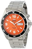 Orient Men's FEM65001MW Orange Mako Stainless Steel Automatic Dive Watch