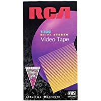 RCA T-120H VHS Video Cassette 120-Minutes (1-Pack)