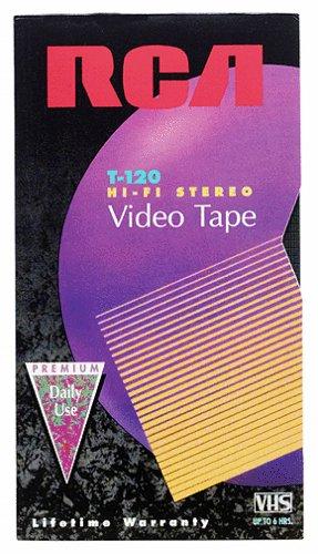 RCA T-120H VHS Video Cassette
