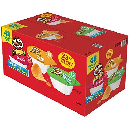 Price comparison product image Pringles Bulk Single Serve Packs, 48 Count