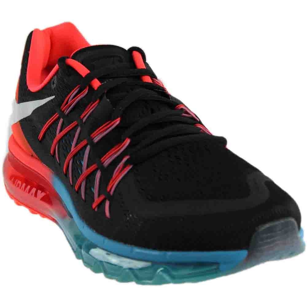 the latest 37e55 f832b Nike Men s Air Max 2015 Black,White,Bright Crimson,Blue Lagoon Running Shoes  - 9UK India  Amazon.in  Shoes   Handbags