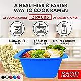 Rapid Ramen Cooker Deluxe   Microwave 2 Packs of