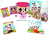 Toy Set 13pc Minnie Mouse Plush Girls Doll Deluxe Activity Play Toy Bundle Set