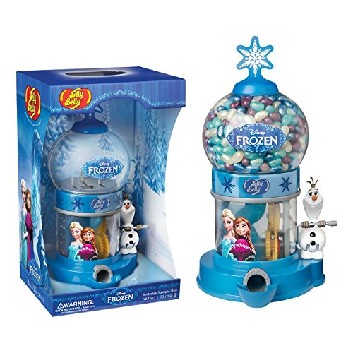 Disney's Frozen Candy Dispenser w/ 1oz Jelly Belly JellyBean