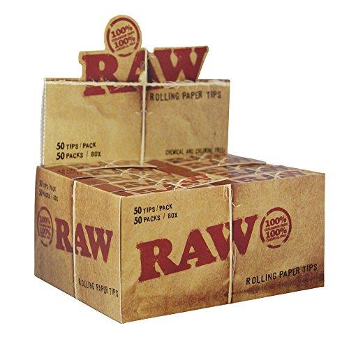 Raw Filtri ungebleicht (50X 50)