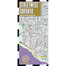 Streetwise Toronto Map - Laminated City Center Street Map of Toronto, Canada
