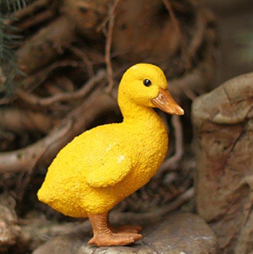 Amazon.com : Urparcel Resin Duck figures Garden decoration, Outdoor ...