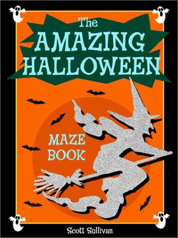 Amazing Halloween Maze Book -