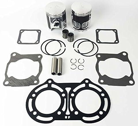 Yamaha Banshee 350 YFM350 64mm Stock Bore Pistons Rings kit Top end Gasket kit - Yamaha Banshee Stock