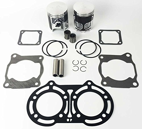 Yamaha Banshee 350 YFM350 64mm Stock Bore Pistons Rings kit Top end Gasket kit (Stock Ring Piston)