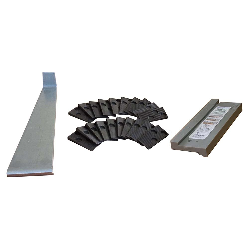 Cal-Flor KI75155 Laminate and Engineered Flooring Installation Kit Tapping Block, Pull Bar and Spacers