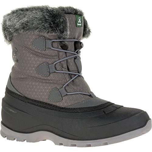 Kamik Women's MOMENTUM2 Snow Boot, Charcoal, 8 Medium ()