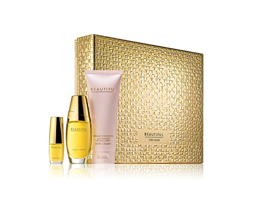 Estee Lauder Beautiful to Go Set (Limited Edition) ($84 Value)