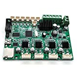 CHPOWER Creality CR-10 Motherboard, 3D Printer Accessory Mainboard Replacement for CR-10(300x300x400mm), CR-10 Mini and Ender 3 3D Printer with USB Port & Power Chip, 12V
