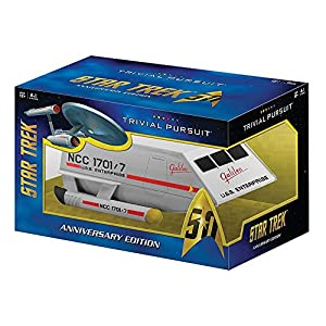 TRIVIAL PURSUIT Star Trek 50th Anniversary Edition Game - 51FRHRzDhlL - TRIVIAL PURSUIT Star Trek 50th Anniversary Edition Game