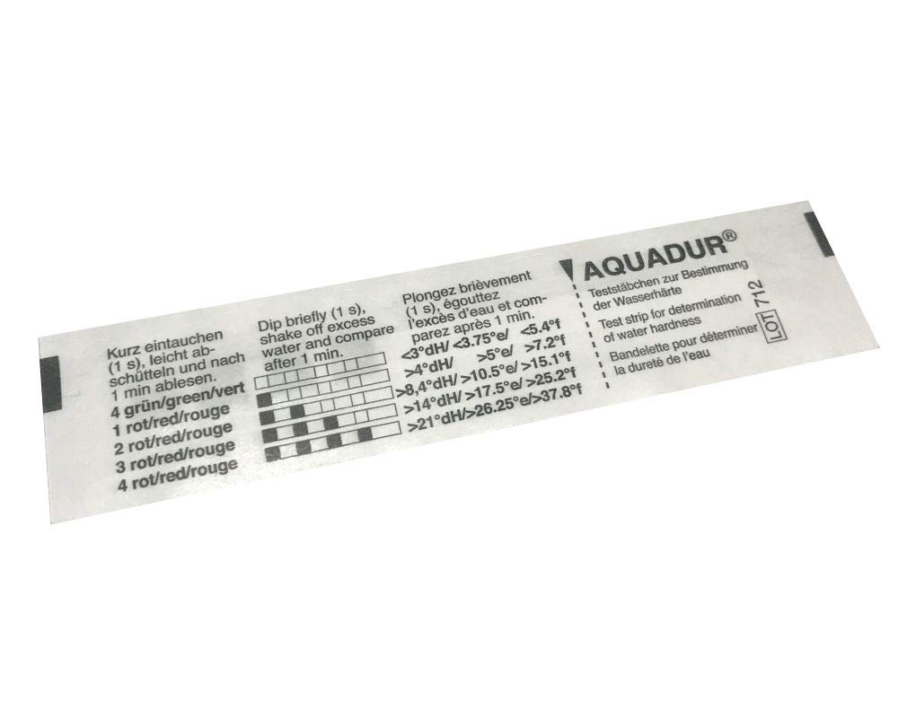Hard Water Test Strip for Breville Oracle, Oracle Touch, Barista Touch, Barista Express BES920XL and Other Domestic Espresso Machines,(Pack of 2) BES980XL/45