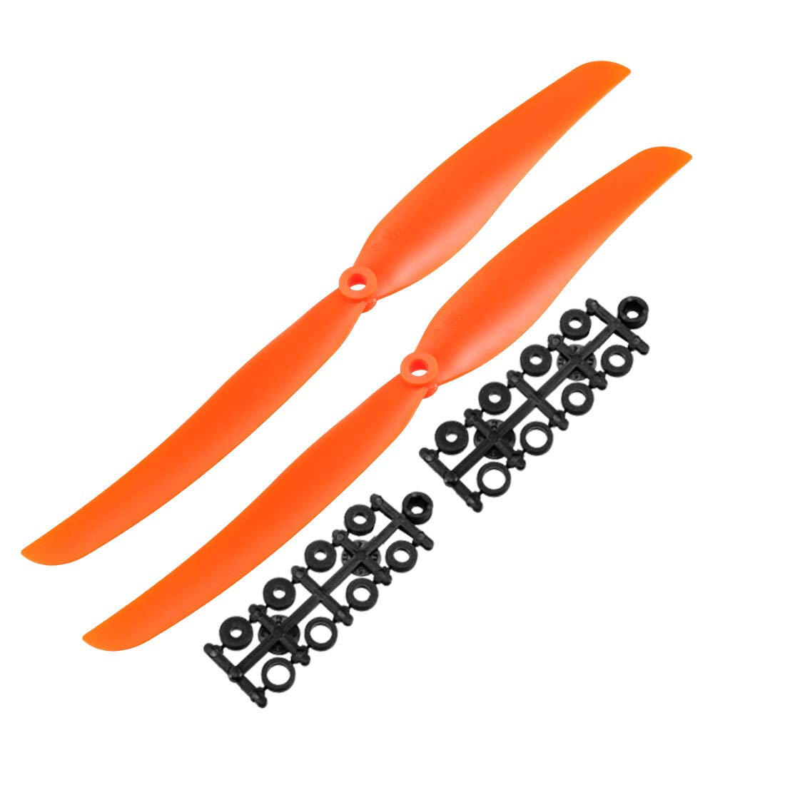 sourcing map 5pcs Electric RC Helicopter Propeller Prop EP-1060 w Adapter Ring