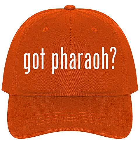 The Town Butler got Pharaoh? - A Nice Comfortable Adjustable Dad Hat Cap, Orange