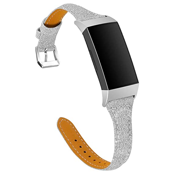 Amazon com: Women Girls Bling Strap for Fitbit Charge 3