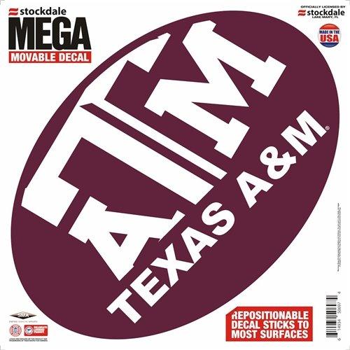 Texas A&m Aggies Decal - 12''x12'' ()