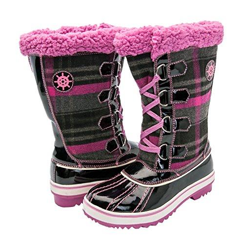 Little Girls Snow Boots - 4