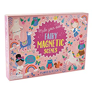 Floss & Rock 40P3587 Rainbow Fairy Magnetic Play Scenes Toy