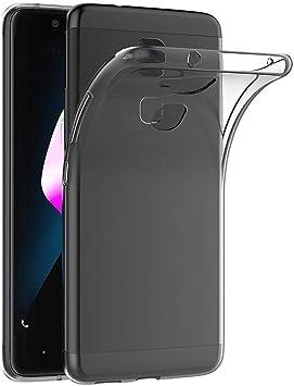 REY Funda Carcasa Gel Transparente para BQ AQUARIS V/VS, Ultra Fina 0,33mm, Silicona TPU de Alta Resistencia y Flexibilidad: Amazon.es: Electrónica