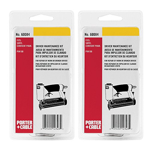 Porter Cable 60084 Driver Replacement (2 Pack) Maintenance Kit for PIN100 # 905117-2pk
